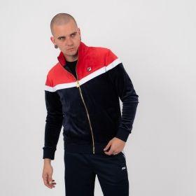 Type Hoodies Fila Harry Vintage Style Track Jacket