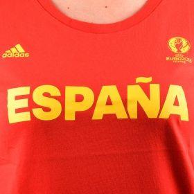 Тениска adidas WMNS EURO 2016 Spain Tee