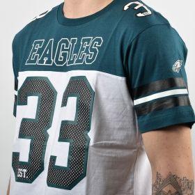 Тениска Majestic NFL Philadelphia Eagles Grapher Coach Tee