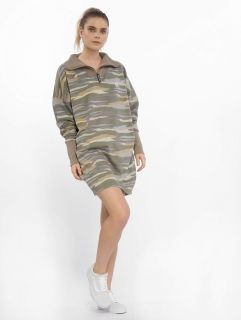 Just Rhyse / Dress Carangas in camouflage