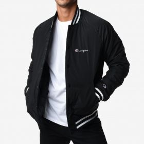 Type Jackets Champion Reverse Weave Satin Bomber Jacket