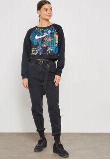 Type Hoodies Nike Wmns Sportswear Print Crew Sweatshirt
