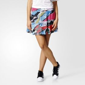 Type Skirts / Dresses adidas Originals WMNS Allover Graphic Skirt