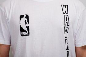 Тениска Mitchell & Ness NBA Golden State Warriors Downcourt Long Tee