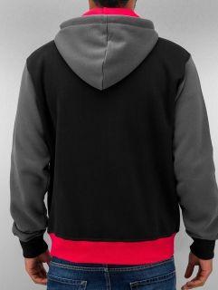 Just Rhyse / Zip Hoodie Oxid in black