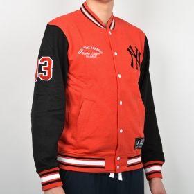 Суичър Majestic MLB New York Yankees Senell Fleece Letterman jacket