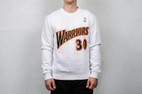 Суичър Mitchell & Ness NBA Golden State Warriors Name And Number Crewneck Sweatshirt