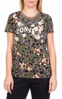 Тениска Converse Wmns Floral Animal Crew Camo T-Shirt