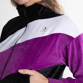 Суичър Converse Wmns Colour Blocked Track Jacket