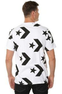 Тениска Converse Star Chevron Print Tee