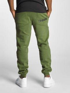 Dangerous DNGRS / Sweat Pant Full Anger in green