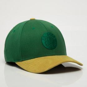 Type Caps Mitchell & Ness NBA Boston Celtics 3D Suede 110 Snapback Cap
