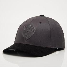 Type Caps Mitchell & Ness NBA Brooklyn Nets 3D Suede 110 Snapback Cap
