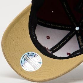 Type Caps Mitchell & Ness NBA Miami Heat 3D Suede 110 Snapback Cap