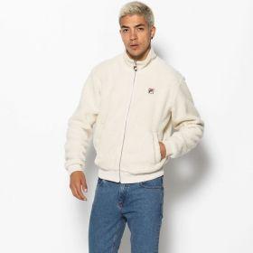 Type Jackets Fila Finch Batwing Sherpa Zip Through Jacket