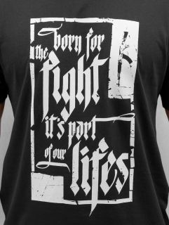 Dangerous DNGRS / T-Shirt Born For The Fight in black