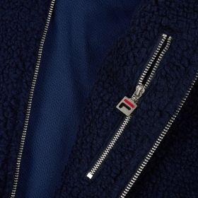 Type Jackets Fila Finch Peacoat Sherpa Jacket