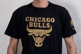 Тениска Mitchell & Ness NBA Chicago Bulls Winning Percentage Traditional Tee
