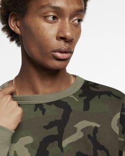 Type Hoodies Nike SB Icon Camo Skate Top