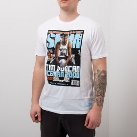 Type Shirts Mitchell & Ness NBA Slam Cover Tim Duncan Tee