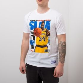 Type Shirts Mitchell & Ness NBA Slam Cover Shaquille O'Neal Tee