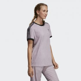 Type Shirts adidas Orignals Wmns 3 Stripes Tee