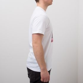 Type Shirts Mitchell & Ness Houston Rockets Hakeem Olajuwon & Clyde Drexler Real Player Print Tee