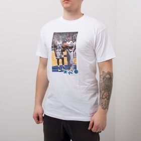 Type Shirts Mitchell & Ness Orlando Magic Shaquille O'Neal & Penny Hardaway Real Player Print Tee