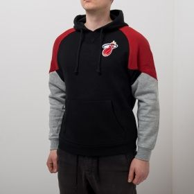 Type Hoodies Mitchell & Ness NBA Miami Heat Trading Block Hoodie