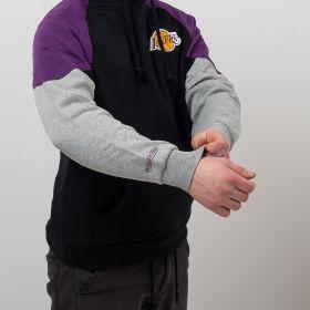 Type Hoodies Mitchell & Ness NBA Los Angeles Lakers Trading Block Hoodie