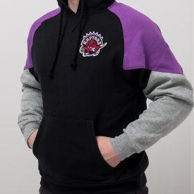Type Hoodies Mitchell & Ness NBA Toronto Raptors Trading Block Hoodie