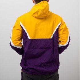 Type Jackets Mitchell & Ness NBA Los Angeles Lakers Half Zip Anorak Jacket