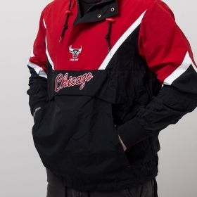 Type Jackets Mitchell & Ness NBA Chicago Bulls Half Zip Anorak Jacket