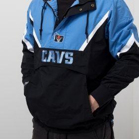 Type Jackets Mitchell & Ness NBA Cleveland Cavaliers Half Zip Anorak Jacket