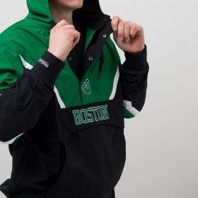 Type Jackets Mitchell & Ness NBA Boston Celtics Half Zip Anorak Jacket
