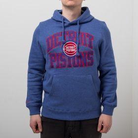 Type Hoodies Mitchell & Ness NBA Detroit Pistons Playoff Win Hoody