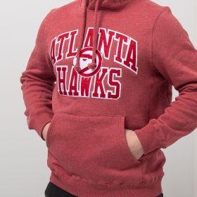 Type Hoodies Mitchell & Ness NBA Atlanta Hawks Playoff Win Hoody