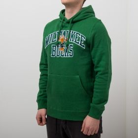 Type Hoodies Mitchell & Ness NBA Milwaukee Bucks Playoff Win Hoody