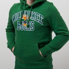 Суичър Mitchell & Ness NBA Milwaukee Bucks Playoff Win Hoody