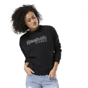 Type Hoodies Reebok Classics Wmns Big Logo Fleece Crew