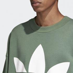 Type Hoodies adidas Originals Oversize Trefoil Sweatshirt