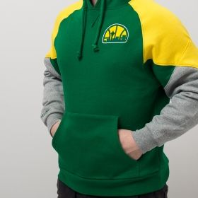 Type Hoodies Mitchell & Ness NBA Seattle Supersonics Trading Block Hoody