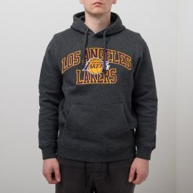 Type Hoodies Mitchell & Ness NBA Los Angeles Lakers Playoff Win Hoody
