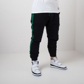 Type Pants Mitchell & Ness NBA Boston Celtics Taped Fleece Joggers