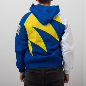 Type Jackets Mitchell & Ness NBA Golden State Warriors Shark Tooth Jacket
