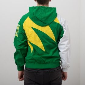 Type Jackets Mitchell & Ness NBA Seattle Supersonics Shark Tooth Jacket