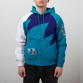 Type Jackets Mitchell & Ness NBA Charlotte Hornets Shark Tooth Jacket