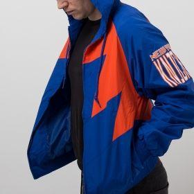 Type Jackets Mitchell & Ness NBA New York Knicks Shark Tooth Jacket