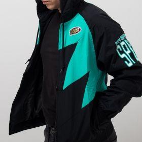 Type Jackets Mitchell & Ness NBA San Antonio Spurs Shark Tooth Jacket