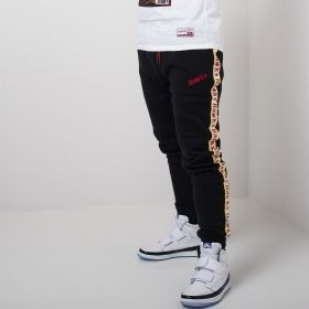 Type Pants Mitchell & Ness NBA Atlanta Hawks Taped Fleece Joggers